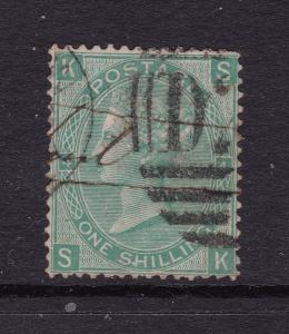 Great Britain a QV 1/- green from 1865
