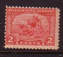 USA  Sc549 1920 2 c 300yr Pilgrims stamp mint NH