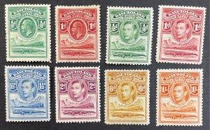 Basutoland #1,2,18-21,24,25 MHOG (1933 - 1938) - King George SCV ~$8.45 [R810]