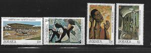 JAMAICA, 567-570, MNH, PAINTINGS