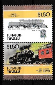 Tuvalu(Funafuti) 1984 Scott 24 B&O Class DD-1 MNH