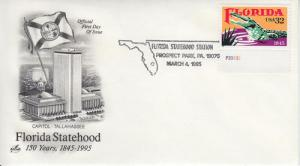 1995 Florida Statehood Prospect Park (2950) 2nd DOI Artcraft