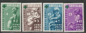 Suriname MNH B112-5 50th Anniversary Of Green Cross 1965
