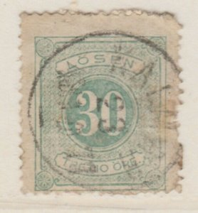Sweden Postage Due 1874-86 30o Perf 14 Fine Used A13P19F148