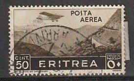 C8 Eritrea Used Air Mail