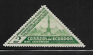 ECUADOR MINT HING INDEPENDENCE MONUMENT