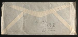 1947 Guatemala Commercial Airmail Cover to Prague Czechoslovakia