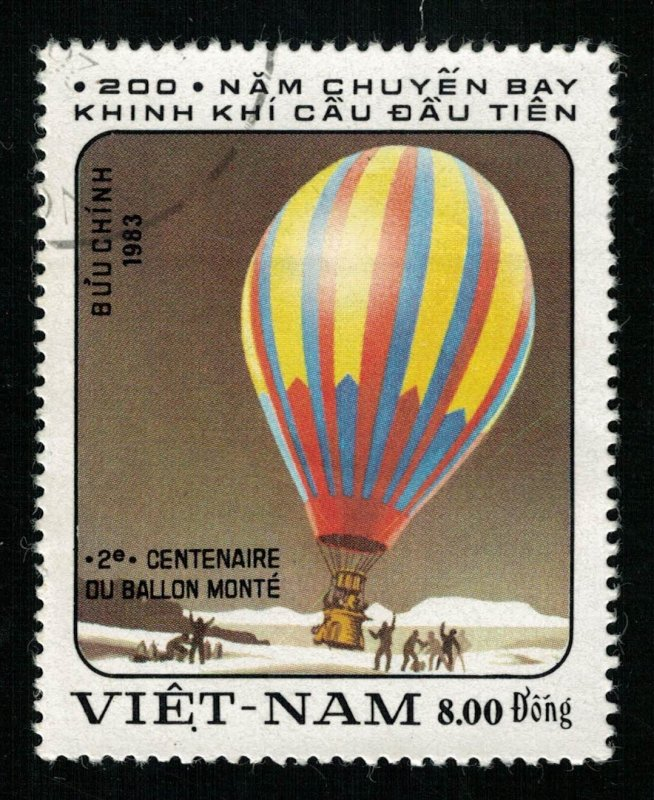 1983, 8.00 Dong, Balloon (Т-9478)