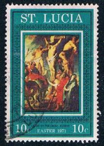 St Lucia Crucifixion 10 - pickastamp (SP16R205)