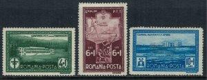 Romania #B37-9*  CV $20.50
