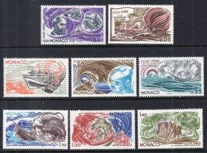 Monaco 1099-1108 Jules Verne MNH VF
