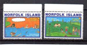 Norfolk Island 369-370 MNH