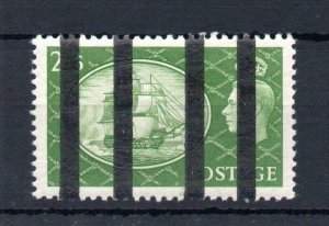 2/6 FESTIVAL LIGHTLY MOUNTED MINT POST OFFICE TRAINING STAMP