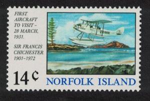 Norfolk First Aircraft Landing 1v SG#151 SC#174