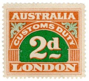 (I.B) Australia Revenue : Customs Duty 2d