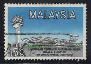 Malaysia Scott 18 Used KL Airport stamp