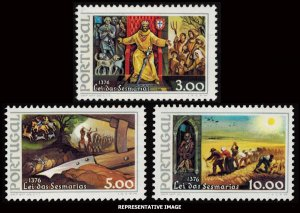 Portugal MNH 1288-90 King Ferdinand Agriculture Reform