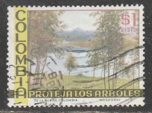 Colombie  1975  Scott No. C619  (O) Poste aérienne