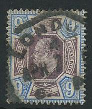 GB Edward VII  SG 306 used