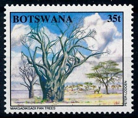 [66249] Botswana 1994 Flora Trees Baumen From Set MNH