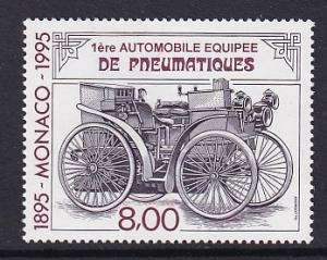 Monaco  #1985   MNH  1995  pneumatic automobile tires