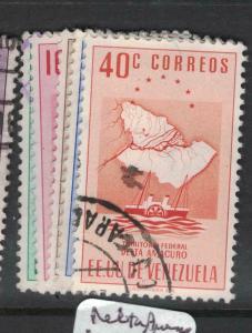 Venezuela Arms SC 548-52 VFU (5dwh)