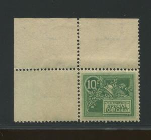 1908 US Special Deliver Stamp #E7 Mint Never Hinged Very Fine Helmet of Mercury
