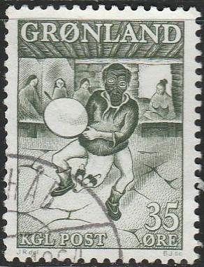 Greenland, #41 Used From 1957-69