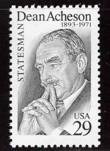 USA Scott 2755 MNH** Dean Acheson stamp