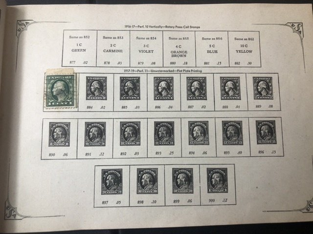Shoebox Full Of W.W Stamps & Stamp Book Might Find Some Gems