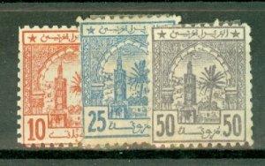 CU: Morocco A1-A6 mint CV $120.50; scan shows only a few