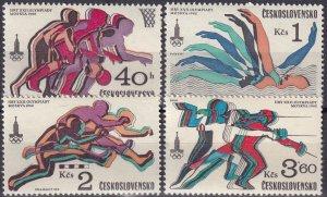 Czechoslovakia #2293-6 MNH CV $3.10  (Z4528)