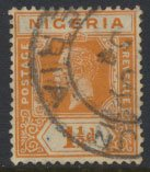 Nigeria  SG 17 Used  Die II  1931 issue please see scan