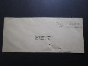 US 1925 Postal Stationery, Albino Error, Used, lower tears/fold - Z7697