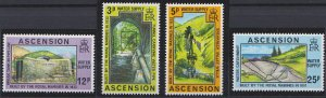 Ascension 221-224 MNH (1977)