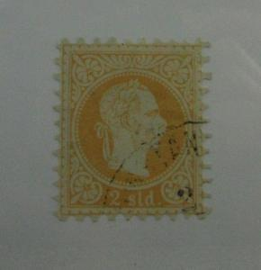 Austria SC #1  Offices in Turkish Empire used stamp