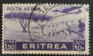 DYNAMITE Stamps: Eritrea Scott #C12 – USED