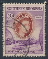 Southern Rhodesia  SG 80  SC# 83  Used Rhodes Grave