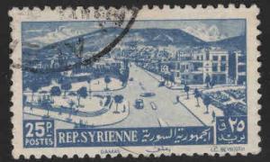 Syria Scott 355 Used 1949 stamp