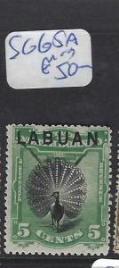 LABUAN (PP2607B)   5C  BIRD  SG 65A   MOG