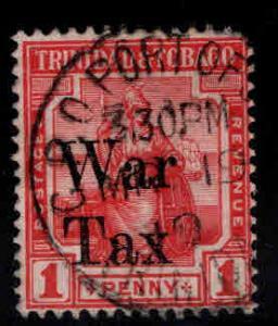 Trinidad & Tobago Scott MR13 Used 1917 War Tax stamp