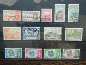 Barbados 1946 Victory 1949 UPU 1951 BWI University 1952 Stamp Centenary