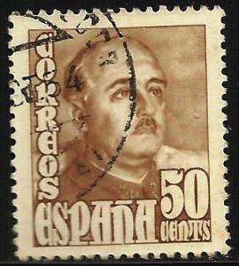 Spain 1948 Scott# 765 Used