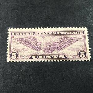 U.S. # C12--MINT//HINGED---- AIR-MAIL----VIOLET-----1930(LOTK)