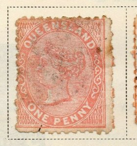 Queensland 1879-81 Early Issue Fine Used 1d. 326872