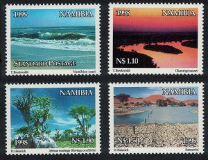 Namibia World Environment Day 4v SG#802-805