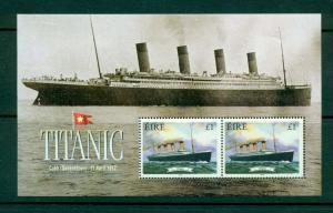 Ireland - Sc# 1172a. 1999 Titanic Souvenir Sheet. MNH $6.75.