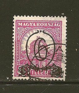 Hungary 451 Surcharged Used
