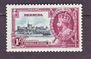 J22215 Jlstamps 1935 bermuda part of set mnh #103 silver jubilee