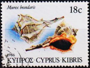 Cyprus. 1986 18c S.G.682 Fine Used